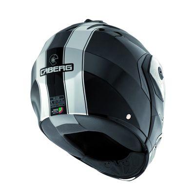 Caberg Duke Legend Flip Front Helmet -  Black /  White
