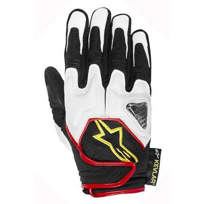 Alpinestars Scheme Kevlar Gloves Yellow