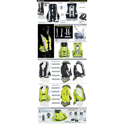 Hit-Air MLV-PB Hi Vis Airbag Vest