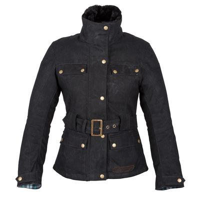 Spada Hartbury Ladies Jacket Collar Closed Front View