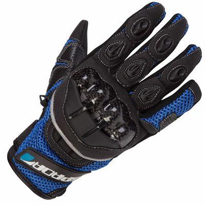 Spada MX-Air Gloves Blue Front View