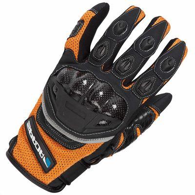Spada MX-Air Gloves Orange Front View