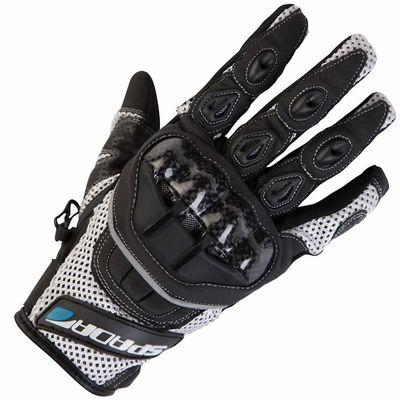 Spada MX-Air Gloves White Front View