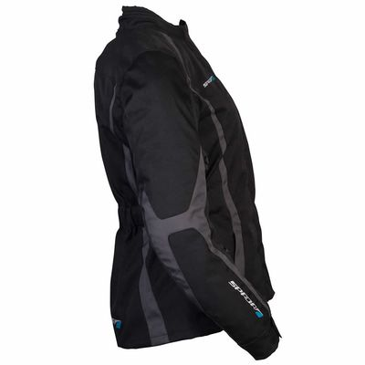 Spada Planet Ladies Jacket in Black / Grey Side View