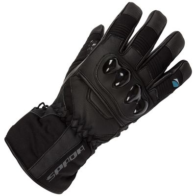 Spada Shadow Leather Gloves Front View