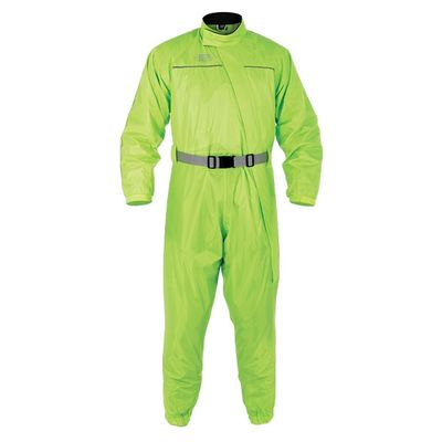 Oxford Waterproof Over Suit Front View Fluo Yellow