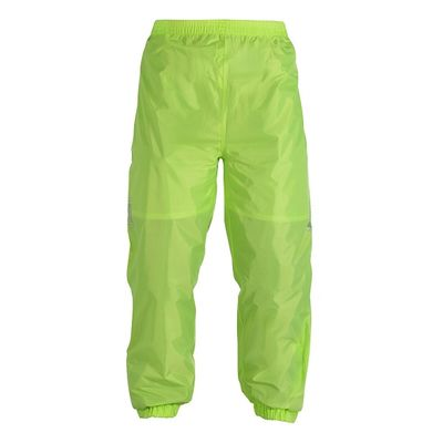 Oxford Waterproof Trousers Front View Fluo Yellow