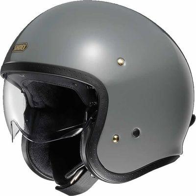 Shoei J.O rat grey motorcycle helmet