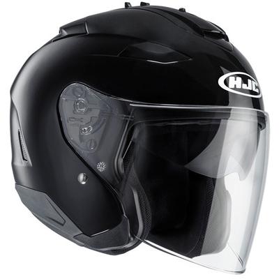 HJC IS-33 2 Black Open Face Helmet Black