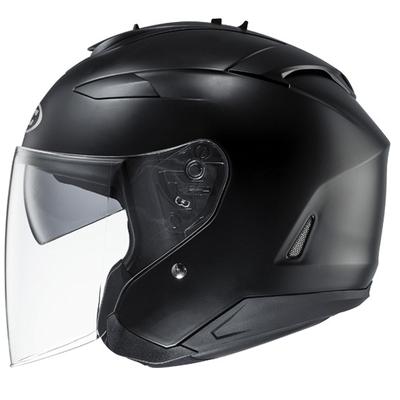 HJC IS-33 2 Open Face Helmet Matt Black
