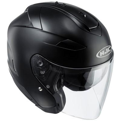 HJC IS-33 2 Matt Black Open Face Helmet Black