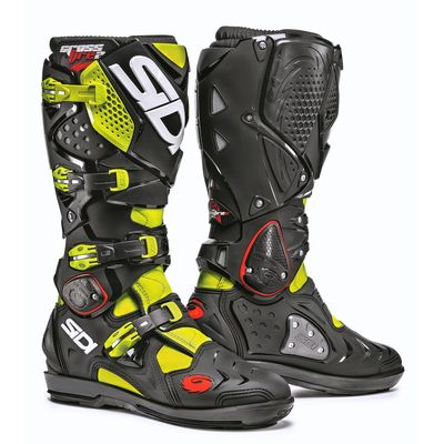 Sidi Crossfire 2 SRS Boots Fluo Yellow Black