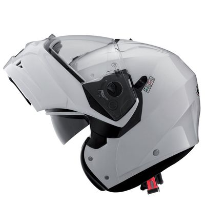Caberg Duke Flip Front Metallic White