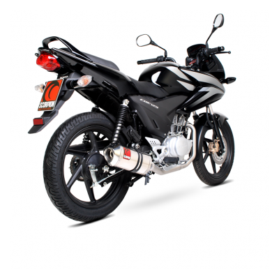 Scorpion Full System Factory Exhaust Honda CBF125 2008 - 2017
