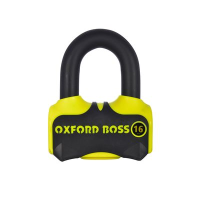 Oxford Boss 16 Disc Lock Yellow