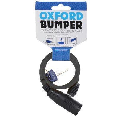 Oxford Bumper Cable Lock - Smoke