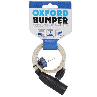 Oxford Bumper Cable Lock - Yellow