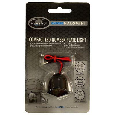 Oxford Halomini LED Number Plate Light