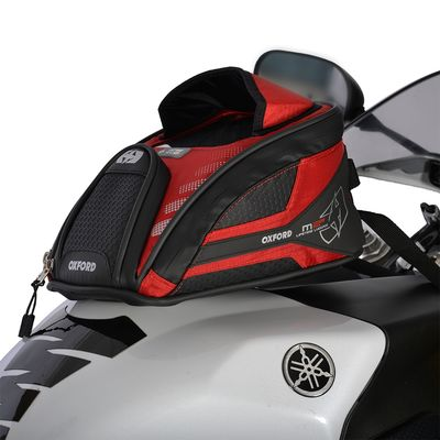 Oxford M2R Mini Tank Bag 2 Litres Red