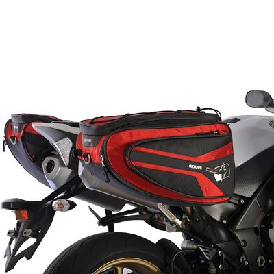 Oxford P50R Panniers Red