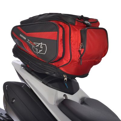 Oxford T30R Tail Pack Red - 30 Litres