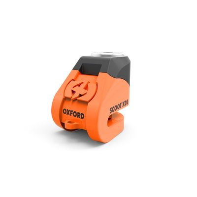 Oxford Scoot XD5 Disc Lock Orange