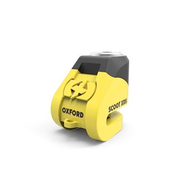 Oxford Scoot XD5 Disc Lock Yellow
