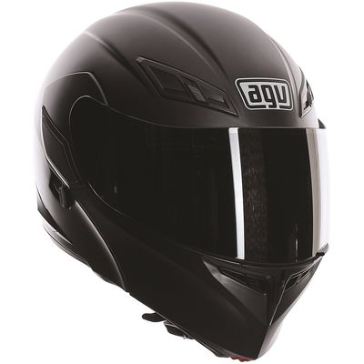 AGV Compact-ST Matt Black Flip Front Helmet