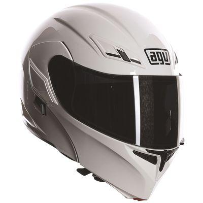 AGV Compact-ST White Flip Front Helmet