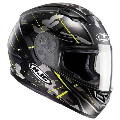 HJC CS-15 Songtan Fluo Green Helmet