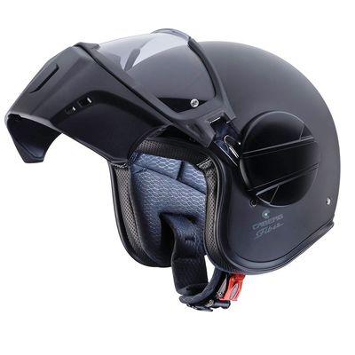 Caberg Ghost Open Face Helmet Matt Black