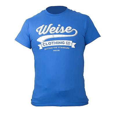 Weise Emblem T-Shirt Royal Blue