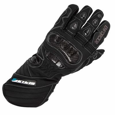 Spada Enforcer WP Winter Race Motorbike Gloves Front View