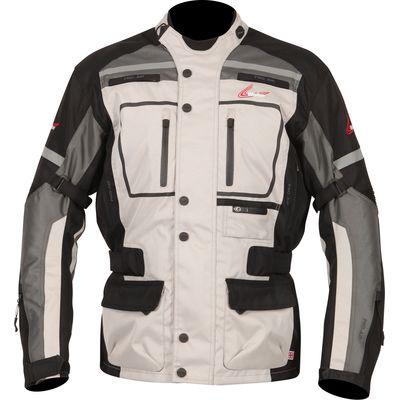Weise Stuttgart Textile Touring Jacket - Stone / Gun