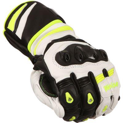 Weise Lancer Gloves Black White Yellow