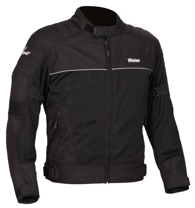 Weise Scout Ventilated Textile Jacket - Black