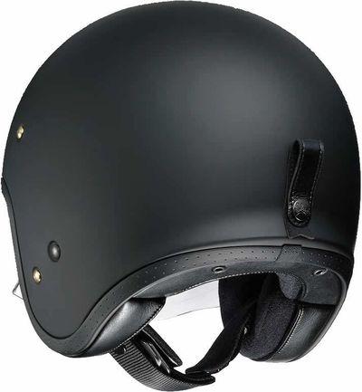 Shoei J.O matt black helmet