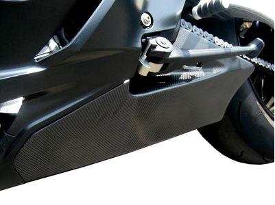 BMW S1000RR TaylorMade left carbon trim