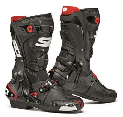 Sidi Rex Motorcycle Boots Black