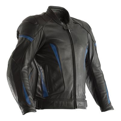 RST GT CE Leather Jacket - Black / Blue