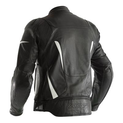 RST GT CE Leather Jacket - Black / WhiteRST GT CE Leather Jacket - Black / White