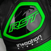 RST Pro Series Airbag CE Leather One Piece Suit - White/Neon Green