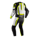 RST Pro Series Airbag CE Leather One Piece Suit - White/Flo Yellow