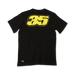 Cal Crutchlow T-shirt Black - Rear