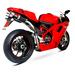 Scorpion Factory Twin Exhausts Ducati 1098 2008 Onwards