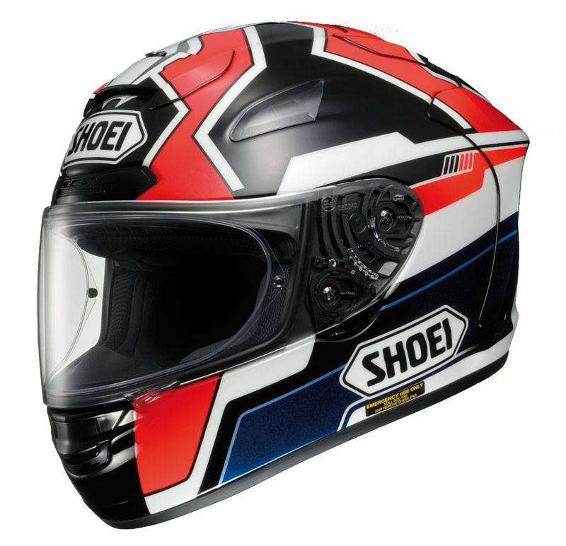 moto gp round 2 support marquez with a replica shoei helmet. Black Bedroom Furniture Sets. Home Design Ideas