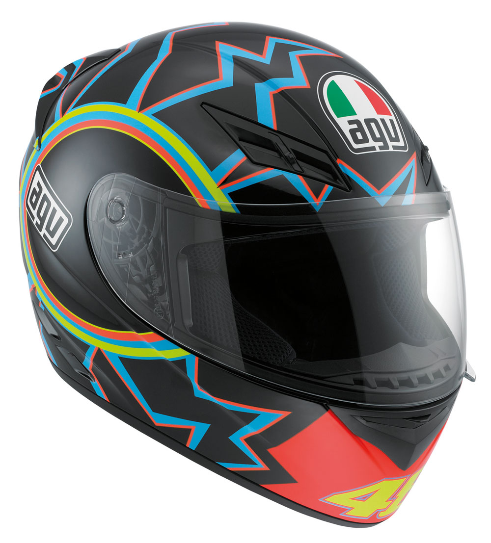 Order Your New AGV K3 Valentino Rossi Replica Helmet Today