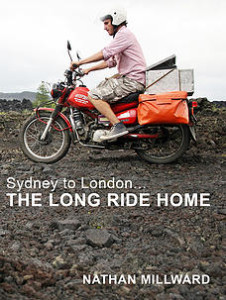 Sydney to London motorbike adventure book