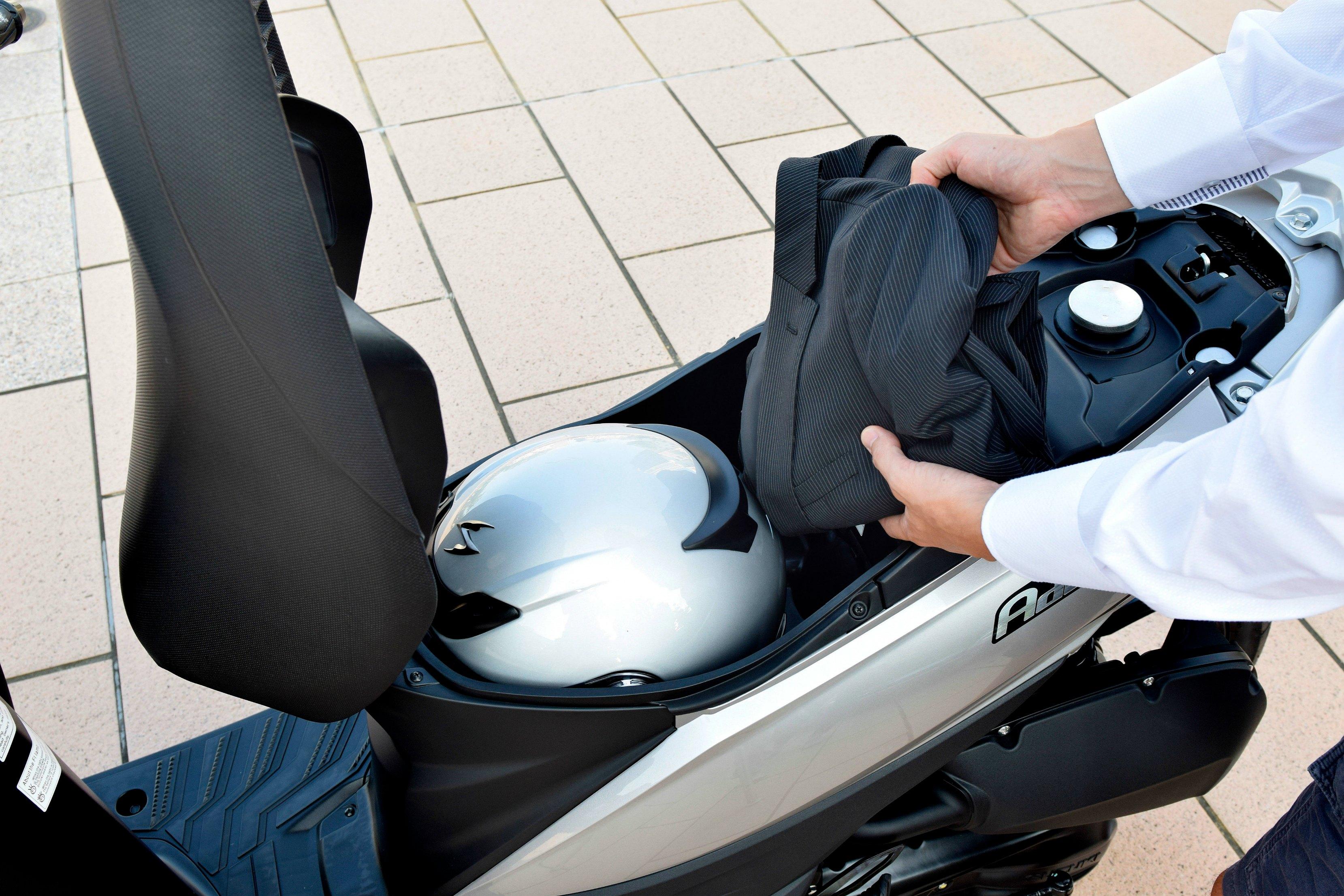 Suzuki Address 110 scooter motorhome