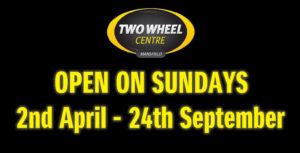 Two Wheel Centre Sunday Openings